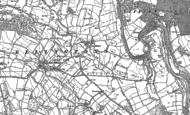 Old Map of Low Ellington, 1890 - 1891