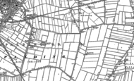 Old Map of Low Fulney, 1887