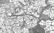 Old Map of Low Grantley, 1907 - 1908