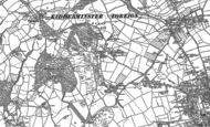 Old Map of Low Habberley, 1901