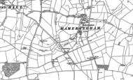Old Map of Low Hameringham, 1887