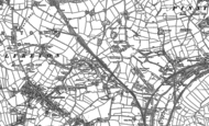 Old Map of Lower Birchwood, 1879 - 1899