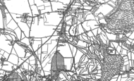 Old Map of Lower Burgate, 1895 - 1908