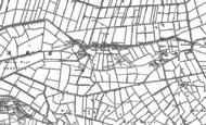 Old Map of Lower Godney, 1884