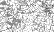 Old Map of Lower Halstock Leigh, 1901