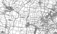 Old Map of Lower Hayton, 1883