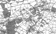 Old Map of Lower Hazel, 1879 - 1880