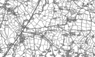 Old Map of Lower Holditch, 1887 - 1901