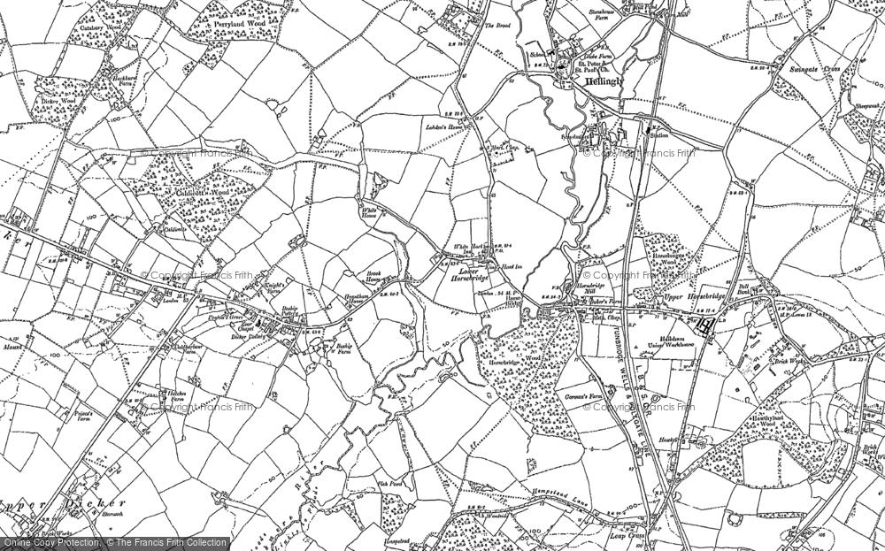 Lower Horsebridge, 1898