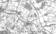Old Map of Lower Kingcombe, 1887
