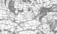Old Map of Lower Kinsham, 1885 - 1902