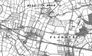 Old Map of Lower Moor, 1884