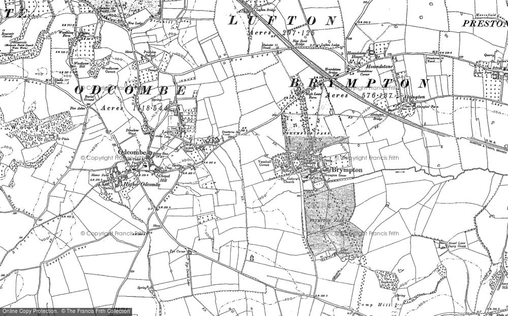 Lower Odcombe, 1886