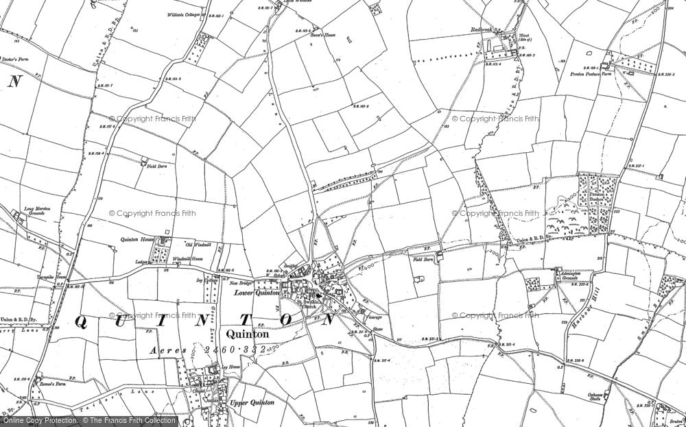 Lower Quinton, 1900
