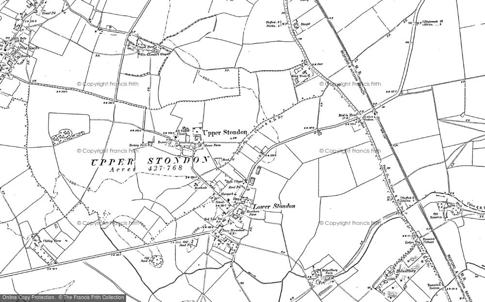 Lower Stondon, 1882 - 1900