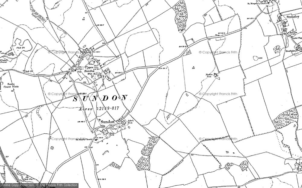 Lower Sundon, 1881