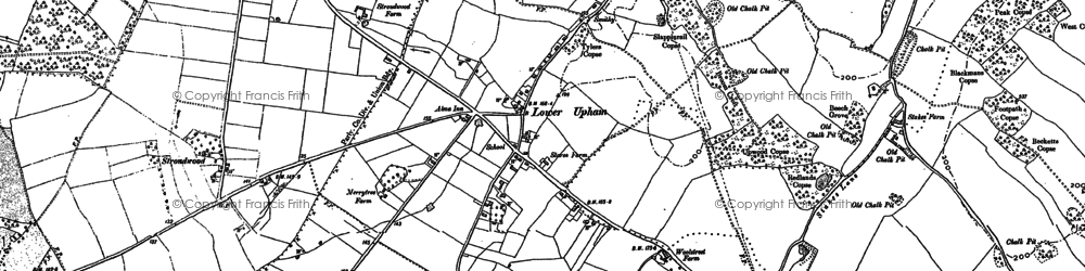 Old map of Wintershill in 1895