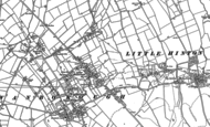 Old Map of Lower Wanborough, 1910 - 1922