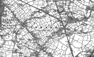 Old Map of Lowton, 1892