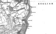 Old Map of Luccombe Village, 1907