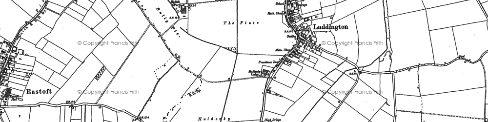 Old map of Adlingfleet Grange in 1904