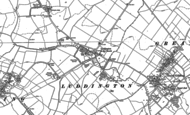 Old Map of Luddington in the Brook, 1887 - 1899