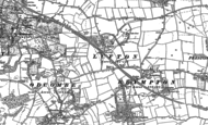Old Map of Lufton, 1886 - 1901