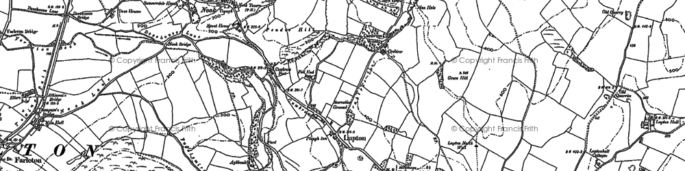 Old map of Aikrigg Green in 1896
