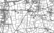 Old Map of Lydford-on-Fosse, 1885