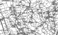 Old Map of Lydiate, 1892