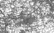 Old Map of Lye, 1901