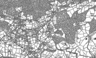 Old Map of Lye Head, 1901