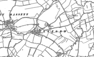 Old Map of Lyford, 1898