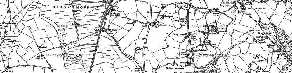 Old map of Oakgrove in 1897