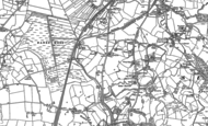 Old Map of Lyme Green, 1897 - 1907