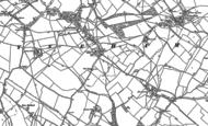 Old Map of Lyneham, 1899