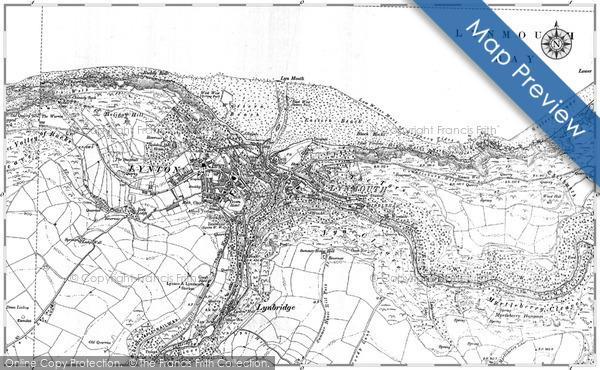 Historic Map covering Blackhead