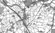 Old Map of Madeley, 1878 - 1898