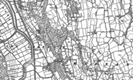 Old Map of Maenan, 1887 - 1899