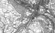 Old Map of Maesycoed, 1898
