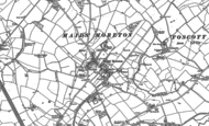 Old Map of Maids' Moreton, 1899 - 1938