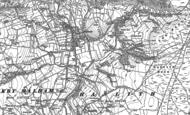 Old Map of Malham, 1907