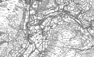 Old Map of Mallwyd, 1886 - 1900