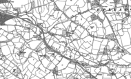 Old Map of Malswick, 1882