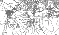 Old Map of Mapledurwell, 1894