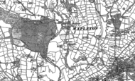 Old Map of Mapleton, 1880 - 1898