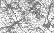 Old Map of Mapplewell, 1851 - 1891