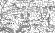 Old Map of Mariansleigh, 1886 - 1887