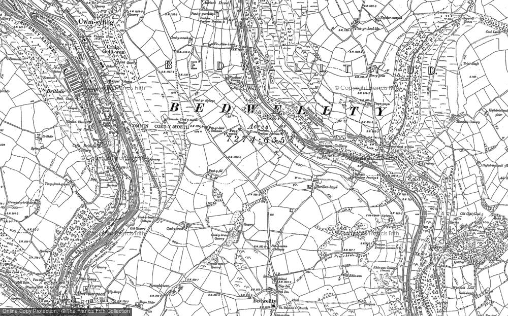 Map of Markham, 1916