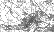Old Map of Marlborough, 1899